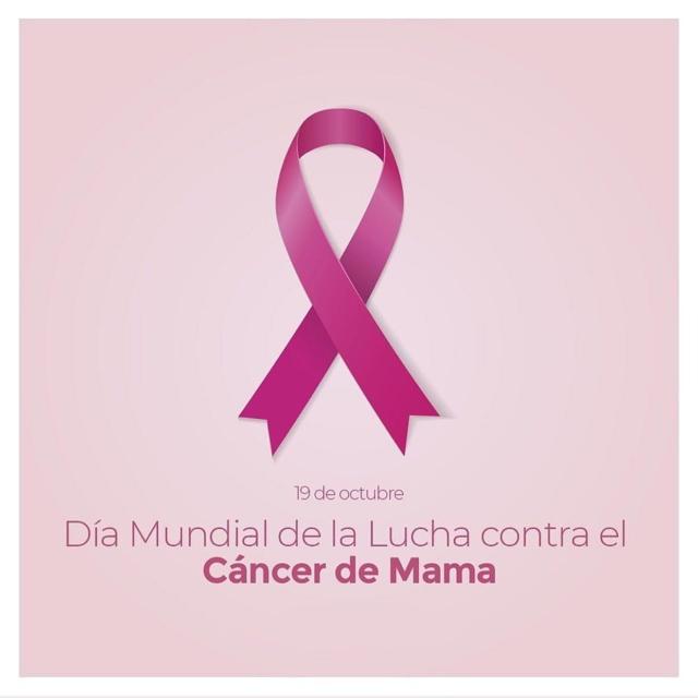 La prevención y diagnóstico temprano es la clave para luchar contra el cáncer de mama. #diamundialprevencioncancerdemama