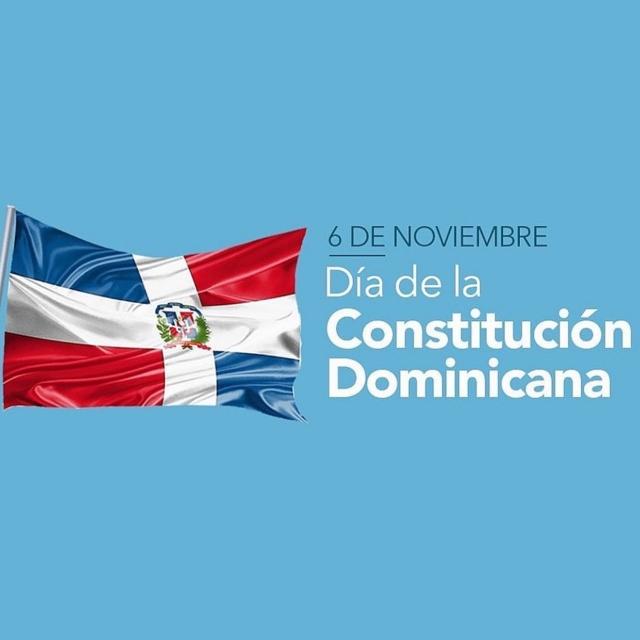 Hoy celebramos el Día de la Constitución de la República Dominicana. Nuestra primera constitución fue creada hace 176 años y difundida en la provincia de San Cristóbal en 1844🇩🇴